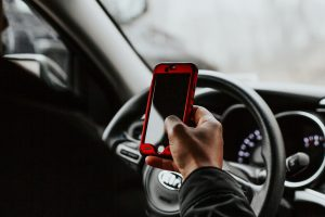 Distracted Driving -Texting while driving